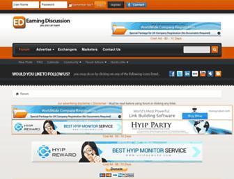 earningdiscussion.com screenshot