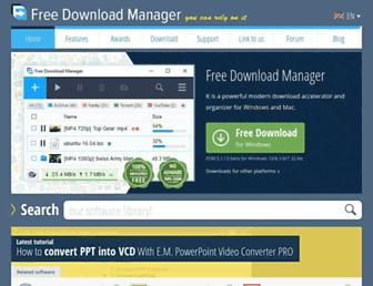 Thumbshot of Freedownloadmanager.org