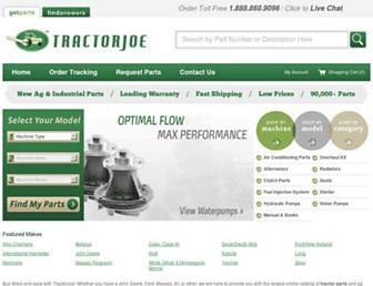 tractorjoe.com screenshot