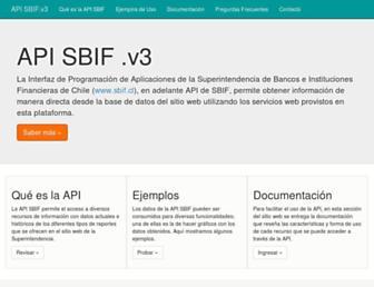 api.sbif.cl screenshot