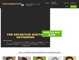 internetsummit.com screenshot