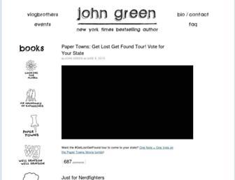 Thumbshot of Johngreenbooks.com
