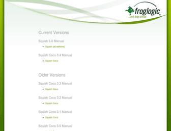 doc.froglogic.com screenshot