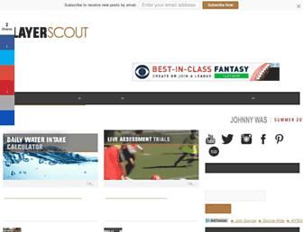 playerscout.co.uk screenshot