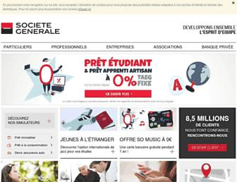 Thumbshot of Societegenerale.fr