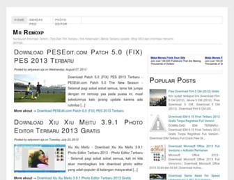 mr-remoxp.blogspot.com screenshot