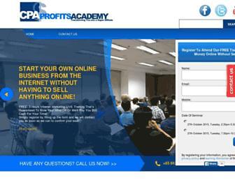 Thumbshot of Cpaprofitsacademy.com
