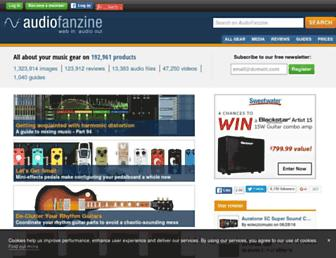 Thumbshot of Audiofanzine.com