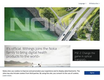 Thumbshot of Nokia.com