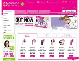 priceline.com.au screenshot