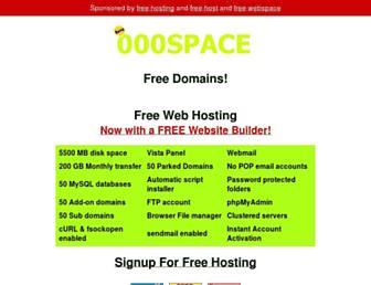 Thumbshot of 000space.com