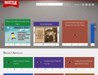 buzzle.com screenshot