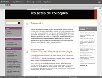actesbranly.revues.org screenshot