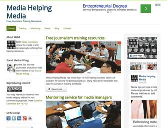 Thumbshot of Mediahelpingmedia.org