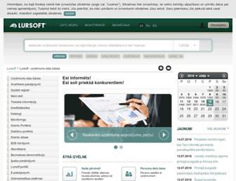 company.lursoft.lv screenshot