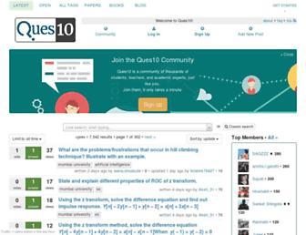ques10.com screenshot