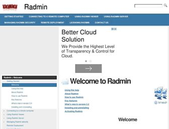 radmin.helpmax.net screenshot