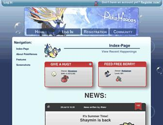 Thumbshot of Pokeheroes.com