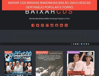baixarcdsbandasebandinhas.blogspot.com screenshot
