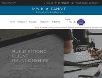 ka-pandit.com screenshot