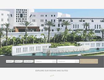 caboazulresort.com screenshot