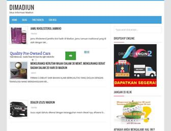 dimadiun.com screenshot