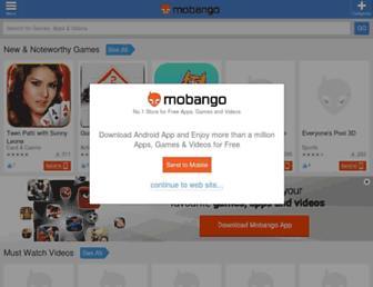 mobango.com screenshot