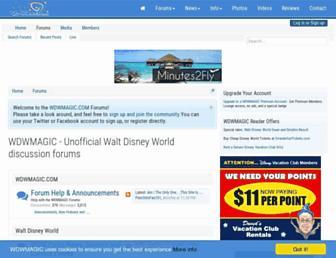 forums.wdwmagic.com screenshot