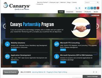 ecanarys.com screenshot