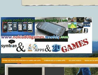 nokia808games.weebly.com screenshot