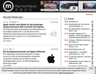 mactechnews.de screenshot