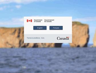 canada.ca screenshot