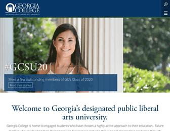Thumbshot of Gcsu.edu