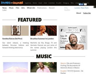 soundsandcolours.com screenshot