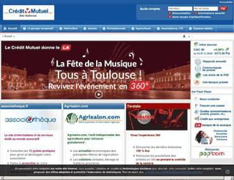 Thumbshot of Creditmutuel.fr