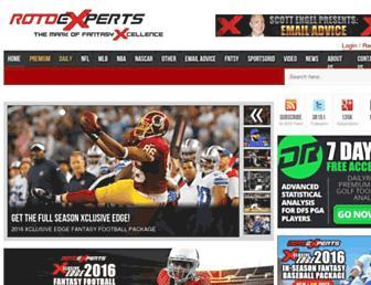 Thumbshot of Rotoexperts.com