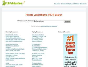 plrpublication.com screenshot