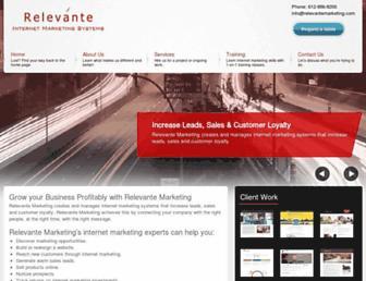 relevantemarketing.com screenshot