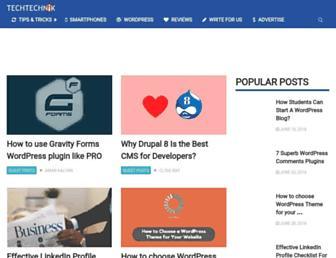 techtechnik.com screenshot
