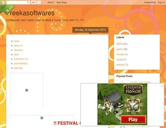freekasoftwares.blogspot.com screenshot