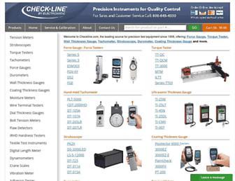 checkline.com screenshot