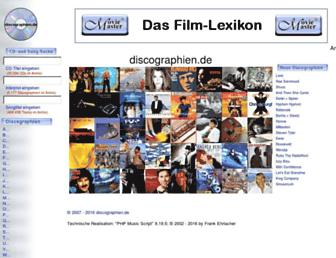 discographien.de screenshot