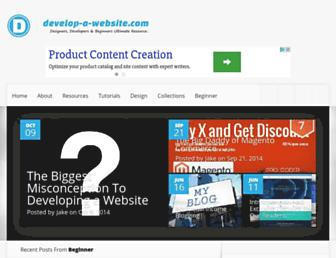 Thumbshot of Develop-a-website.com