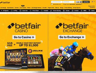 Thumbshot of Betfair.com
