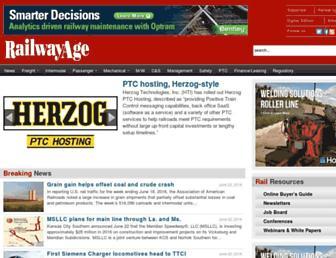 railwayage.com screenshot