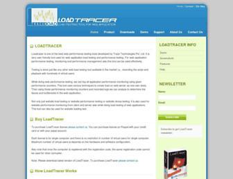 loadtracer.com screenshot