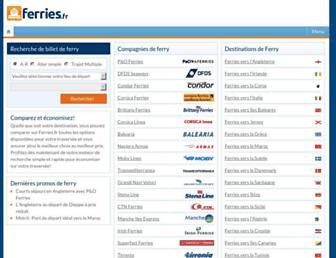 ferries.fr screenshot