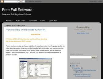 freewaresotware.blogspot.com screenshot