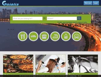 Thumbshot of Guialis.co.in