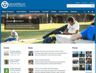 gvsu.edu screenshot